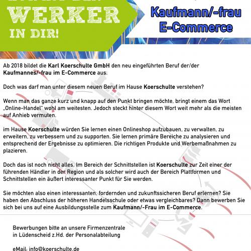 Kaufmann-E-Commerce
